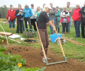 Four season farming demonstration